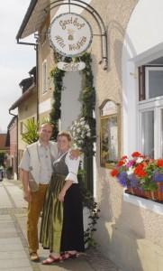 Günther und Lisa Putz, Gastwirte aus Bad Birnbach