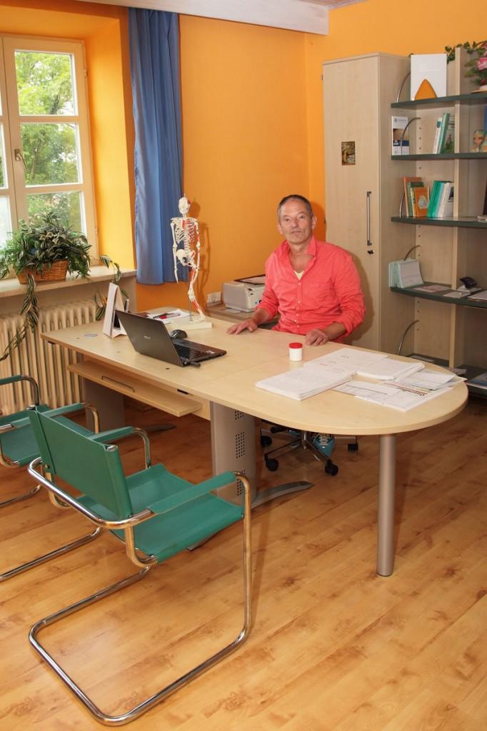 Physiotherapeut Franz Stiglmeier