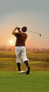 Golfspielen mit traumhaftem Blick über Bad Birnbach