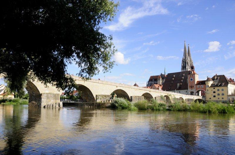Stadtpanorama von Regensburg