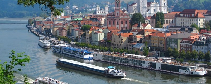 Drei-Flüsse-Stadt Passau