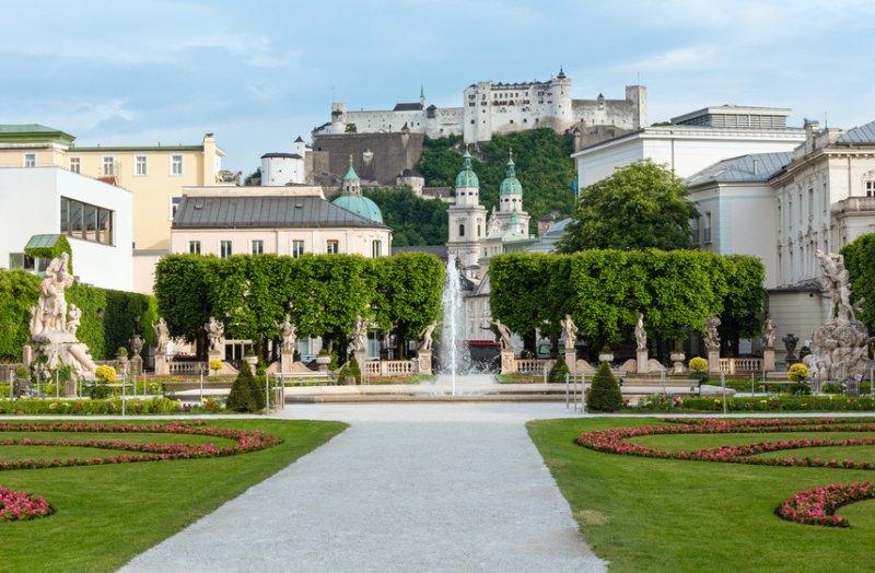 Schloß Mirabell in Salzburg – in ca. 1,5 Stunden mit dem Auto zu erreichen