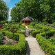 Bauerngarten im Kurpark in Bad Birnbach