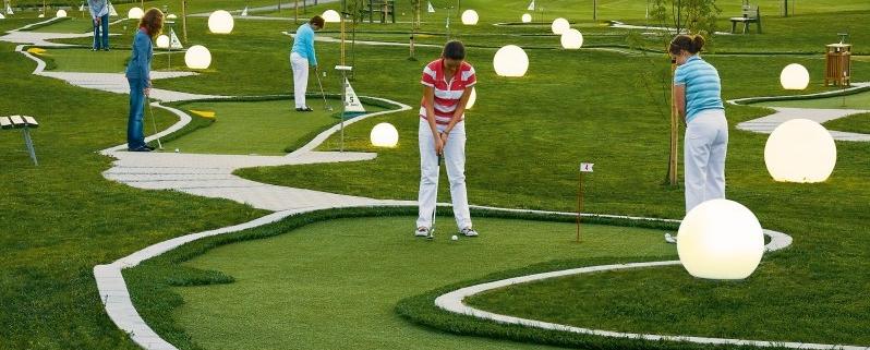 Spiel!Golf-Anlage auf dem Bella Vista Golfpark Bad Birnbach