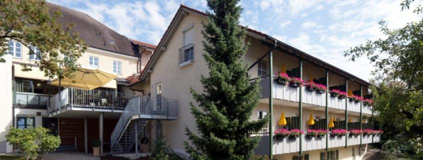Aussenansicht des Hotels Alter Weißbräu in Bad Birnbach