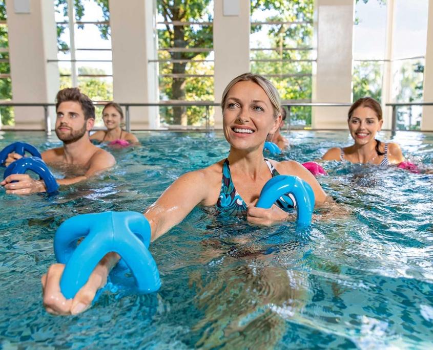 Wassergymnastik im Therapiebad der Rottal Terme
