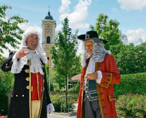 Schauspieler des historischen Festspiels Caspar von Schmid