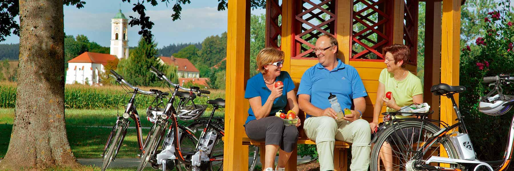 Fahrradfahren in Bad Birnbach im Rottal