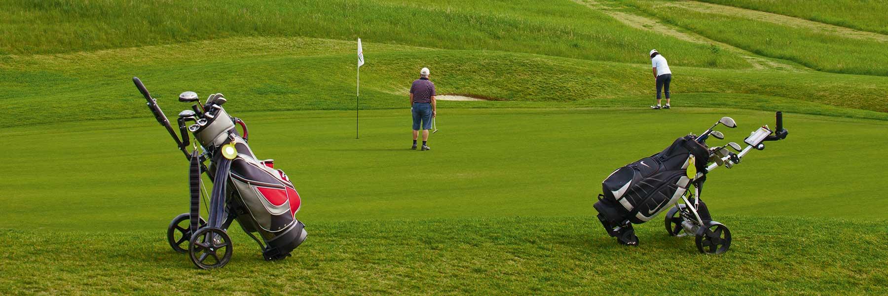 Golf spielen auf dem Bella Vista Golfpark in Bad Birnbach