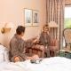 Classic-Appartement im Hotel Alter Weißbräu in Bad Birnbach mit Wohnkomfort auf kleinem Raum