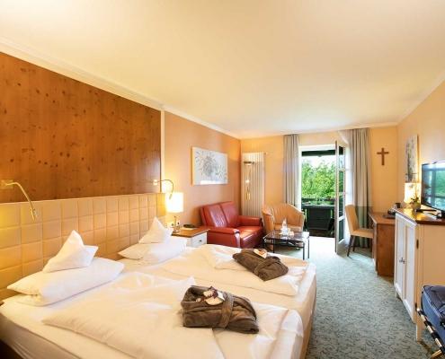 Classic-Doppelzimmer im Hotel Alter Weißbräu in Bad Birnbach