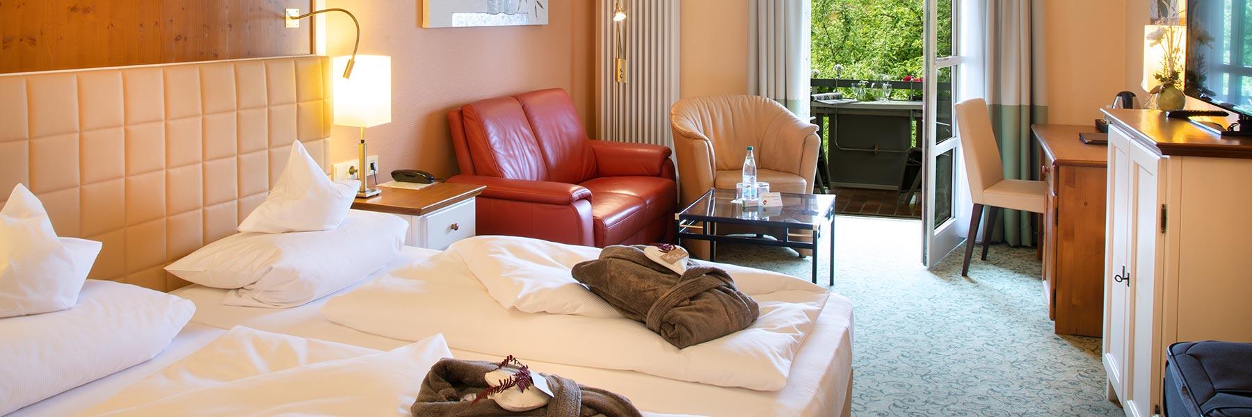 Hotelzimmer im Hotel Alter Weißbräu in Bad Birnbach
