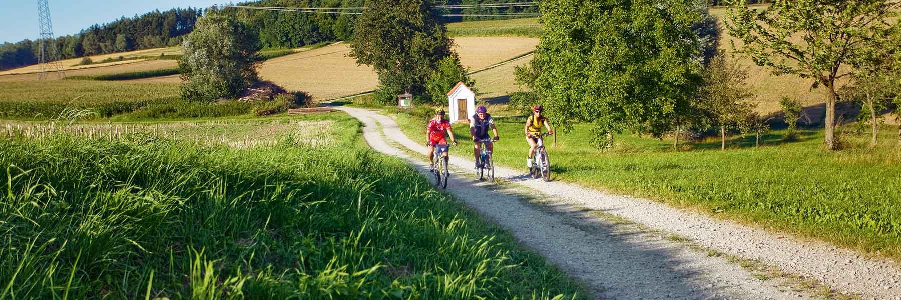 Fahrradfahren in Bad Birnbach im Rottaler Hügelland