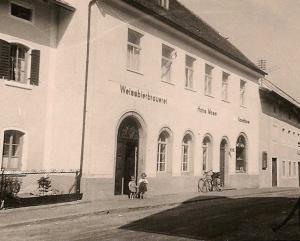 Weißbierbrauerei Bad Birnbach um 1952