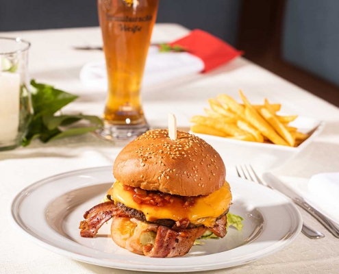 Weißbräu-Burger