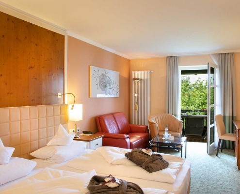 Classic-Zimmer im Hotel Alter Weißbräu in Bad Birnbach mit modernem Ambiente
