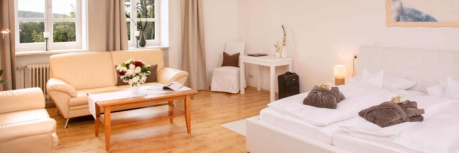 Großzügige Ferienwohnung im Hotel Alter Weißbräu in Bad Birnbach